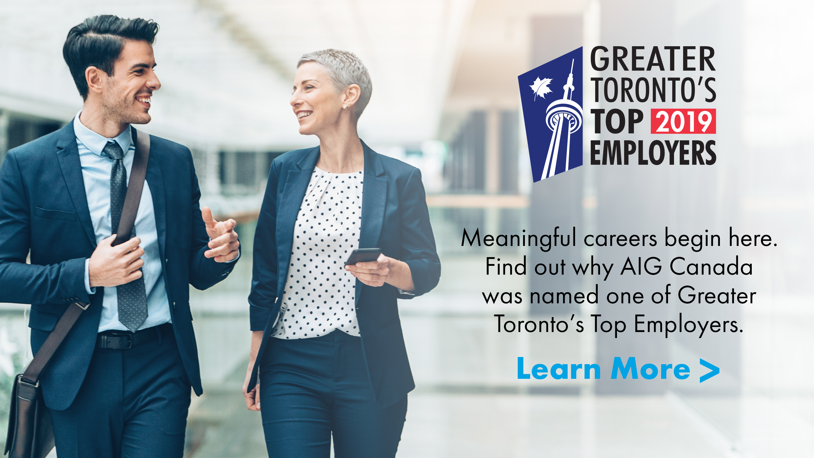 Greater Toronto's Top 2019 Employers Award