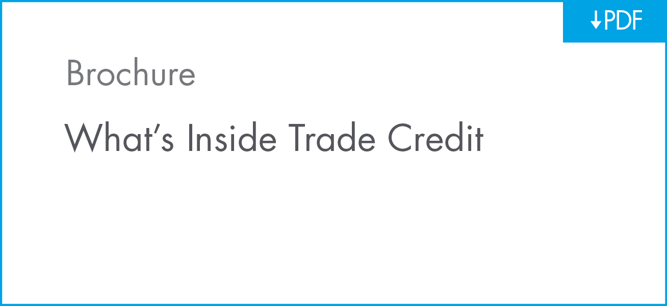 Download What's Inside Trade Credit Brochure