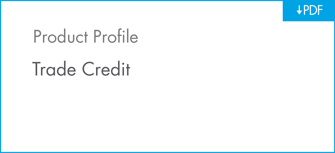 Download Trade Credit Product Profile